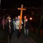 Křížová cesta nad městem – pondělí 15.04.2019, 19:30